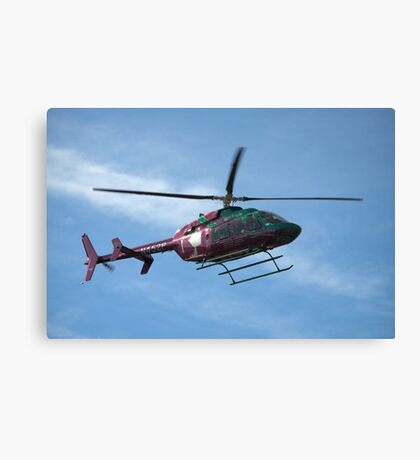 2003 Bell Helicopter Model 407 - Life Flight Eagle  Canvas Print