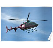 2003 Bell Helicopter Model 407 - Life Flight Eagle  Poster