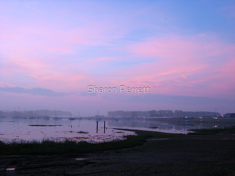 Sunrise 04-10-07 by Sharon Perrett
