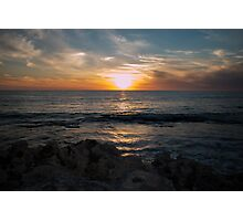 Sky Sun Sea Photographic Print