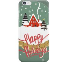 Happy Holiday iPhone Case/Skin