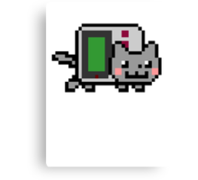 Gameboy nyan BIG!! Canvas Print