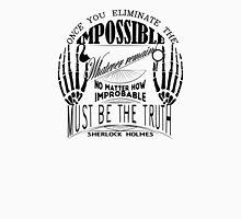 sherlock holmes belief Unisex T-Shirt