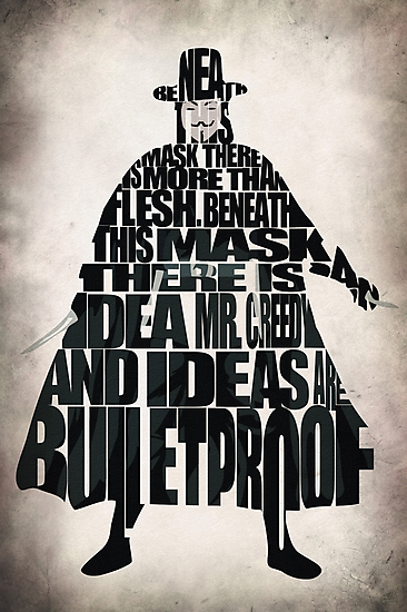 V for Vendetta by A. TW