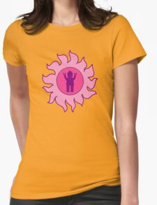 MINIFIG IN SUN DESIGN  Womens Fitted T-Shirt