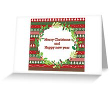 christmass and new year Greeting Card