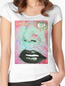 Thinking Pink Women's Fitted Scoop T-Shirt