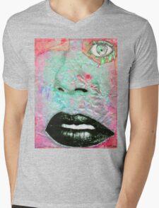 Thinking Pink Mens V-Neck T-Shirt