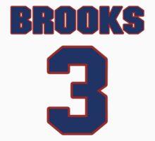 Basketball player Aaron Brooks jersey 3 by imsport