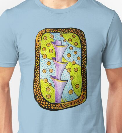 Crinoid Archimedes Fossil Unisex T-Shirt