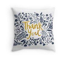 Thank You Throw Pillow