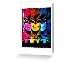 Batman pop art Greeting Card