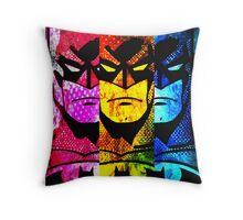 Batman pop art Throw Pillow