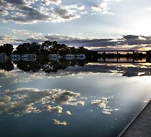 Murray River; Berri South Australia by Michael Humphrys