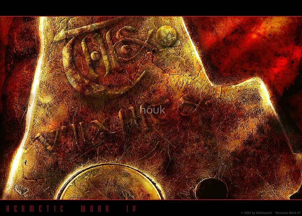 Hermetic Work IV by houk