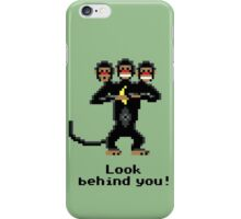Three-Headed Monkey iPhone Case/Skin