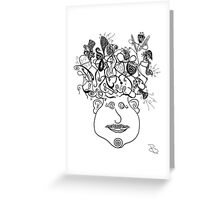 Funk Head Greeting Card