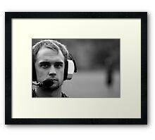 The Coach Framed Print