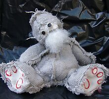 Scary Ted, Handmade bears from Teddy Bear Orphans by Penny Bonser