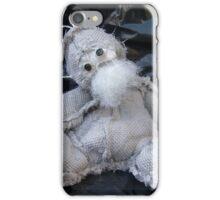 Scary Ted, Handmade bears from Teddy Bear Orphans iPhone Case/Skin