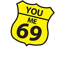 You and me route 69 Photographic Print