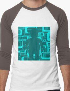 Retro Minifig Art  Men's Baseball ¾ T-Shirt