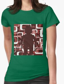 Retro Minifig Art  Womens T-Shirt
