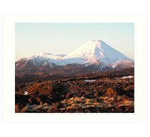 Mount Doom Art Print