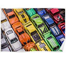 Toy Cars - Bumper to Bumper Poster