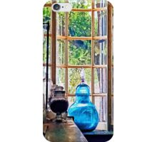Blue Apothecary Bottle iPhone Case/Skin