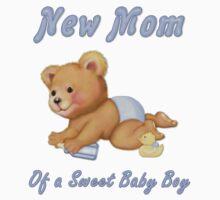 Crawling Teddy - New Mom of Boy by SpiceTree