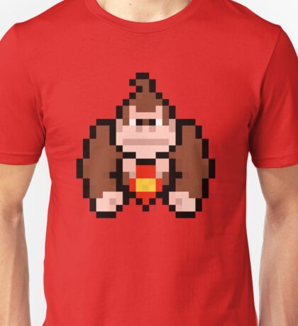 Pixel Donkey Kong Unisex T-Shirt