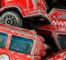 Toy Cars - Red Sticker