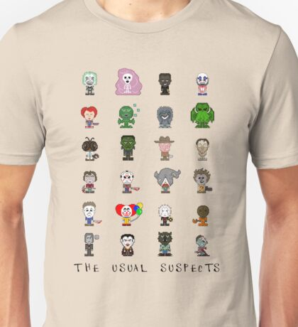 Lil' Monsters - The Usual Suspects Unisex T-Shirt