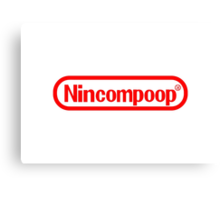 Nincompoop Canvas Print