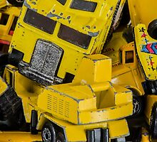 Toy Cars - Yellow  by zingarostudios