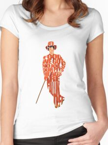 Lloyd Christmas Women's Fitted Scoop T-Shirt