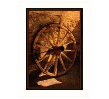 wheel Art Print