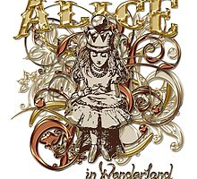 Queen Alice Carnivale Style - Gold Version by Sally McLean