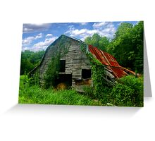 Rough Around the Edges ~ Spring Greeting Card