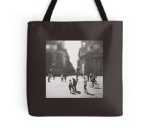 People are walking in Roma, Italy Tote Bag