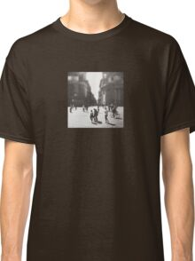 People are walking in Roma, Italy Classic T-Shirt
