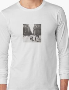 People are walking in Roma, Italy Long Sleeve T-Shirt