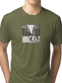 People are walking in Roma, Italy Tri-blend T-Shirt
