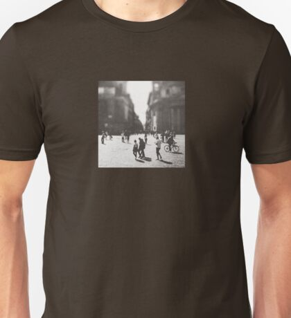 People are walking in Roma, Italy Unisex T-Shirt