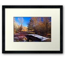 Waking Up To Winter Framed Print