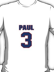 Basketball player Chris Paul jersey 3 T-Shirt