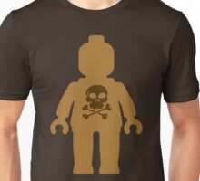 Minifig with Skull Design Unisex T-Shirt