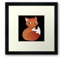 Foxy Fox Framed Print