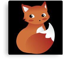 Foxy Fox Canvas Print
